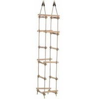 Wooden Rung Rope Ladder - 4 sides