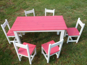 Table & 6 Chair Set