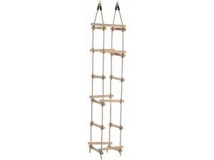 Wooden Rungs Rope Ladder (4 Sides)