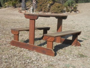 Freestanding Items Picnic Table Set